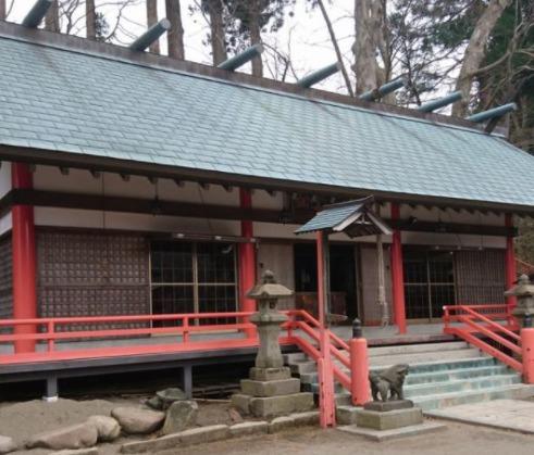二戸市「呑香稲荷神社」