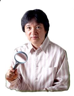 那覇市国際通りで鑑定をしていたお顔占い「城本芳弘先生」