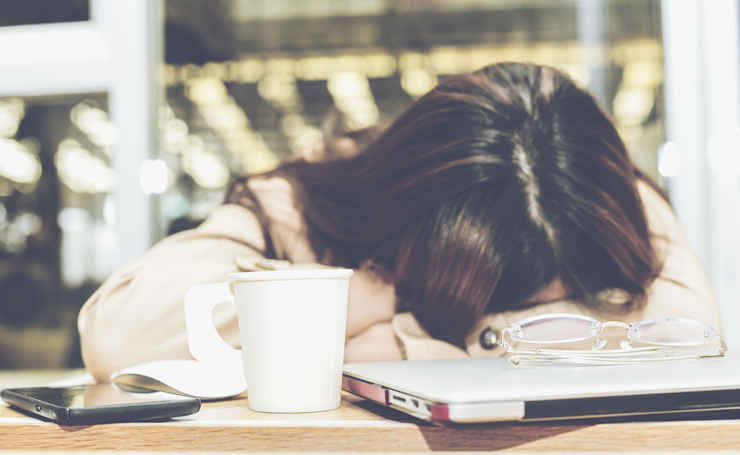 仕事中に眠い・夕方にすごく眠い