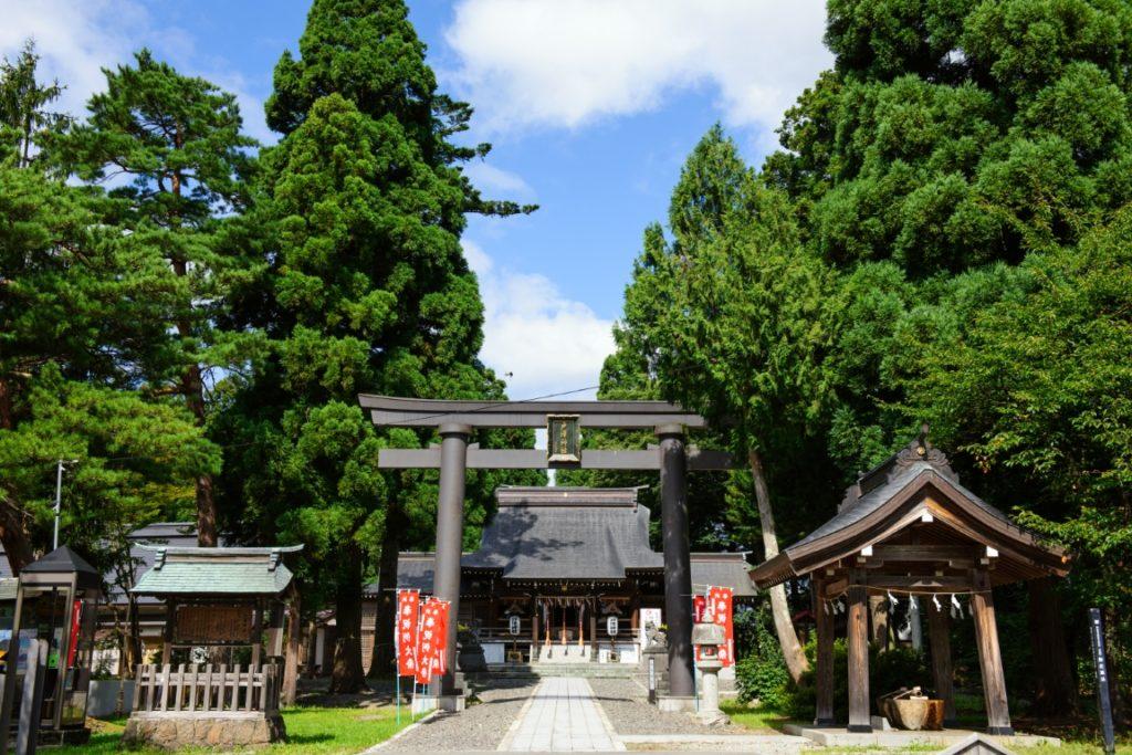 新庄市「戸澤神社」