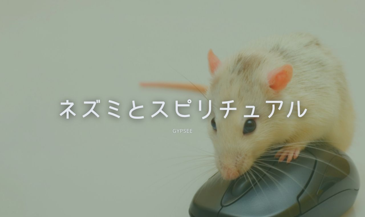 白 ネズミ 縁起