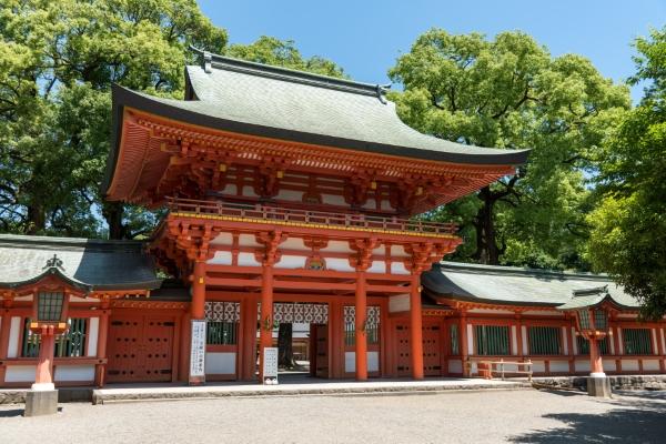 武蔵一宮「氷川神社」