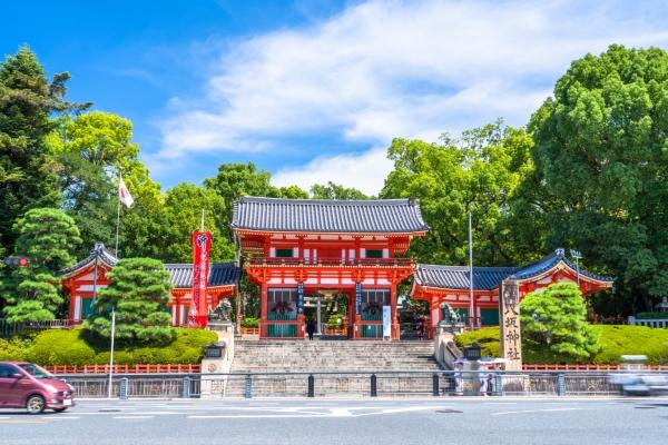 《京都府》八坂神社・エントランス