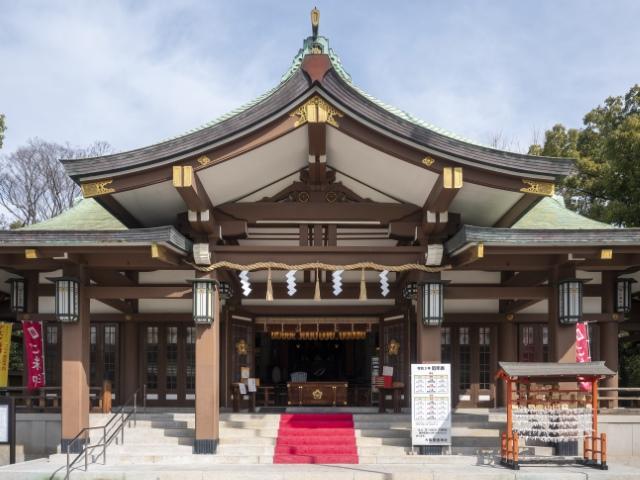【大阪市】大阪護国神社の本殿